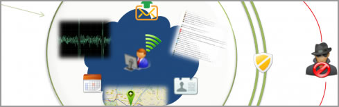 image depicting privacy online