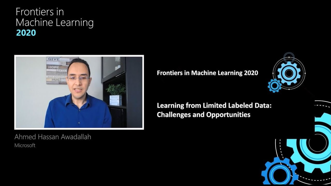 Frontiers in Machine Learning: Learning from Limited Labeled Data: Challenges and Opportunities for NLP