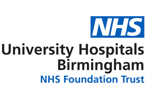 University Hospitals Birmingham - NHS Foundation Trust logo