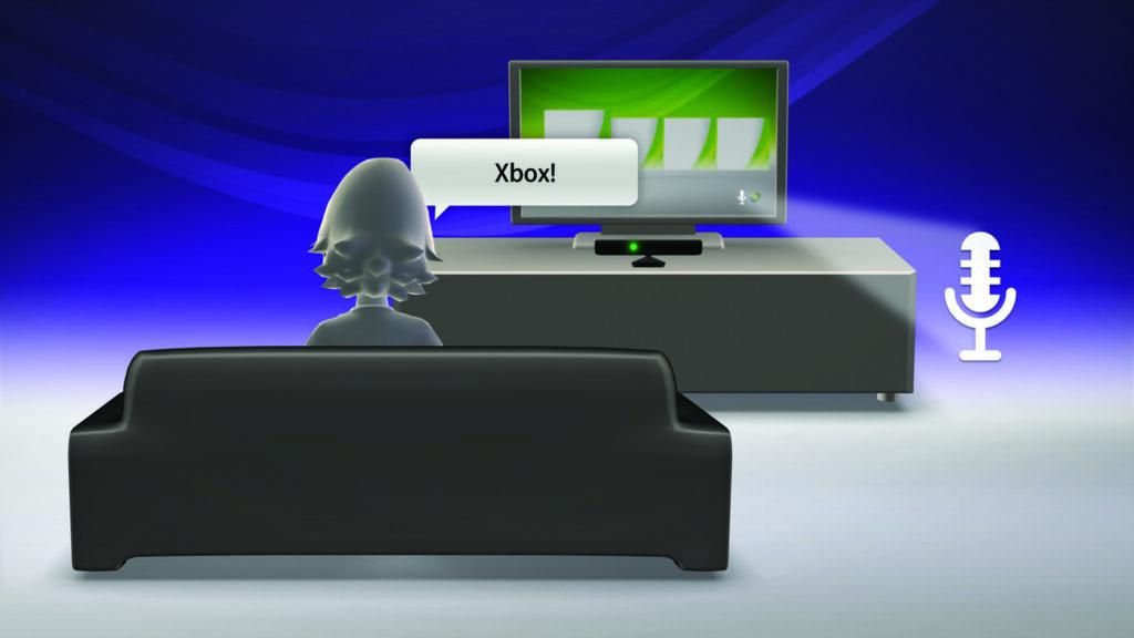 Kinect Voice Illustration 2010