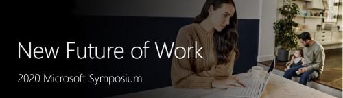 New Future of Work 2020 Symposium logo