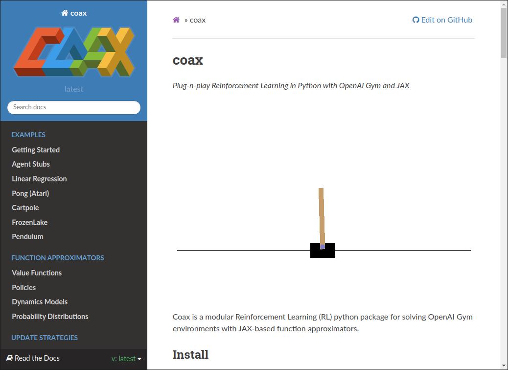 coax: A Modular RL Package