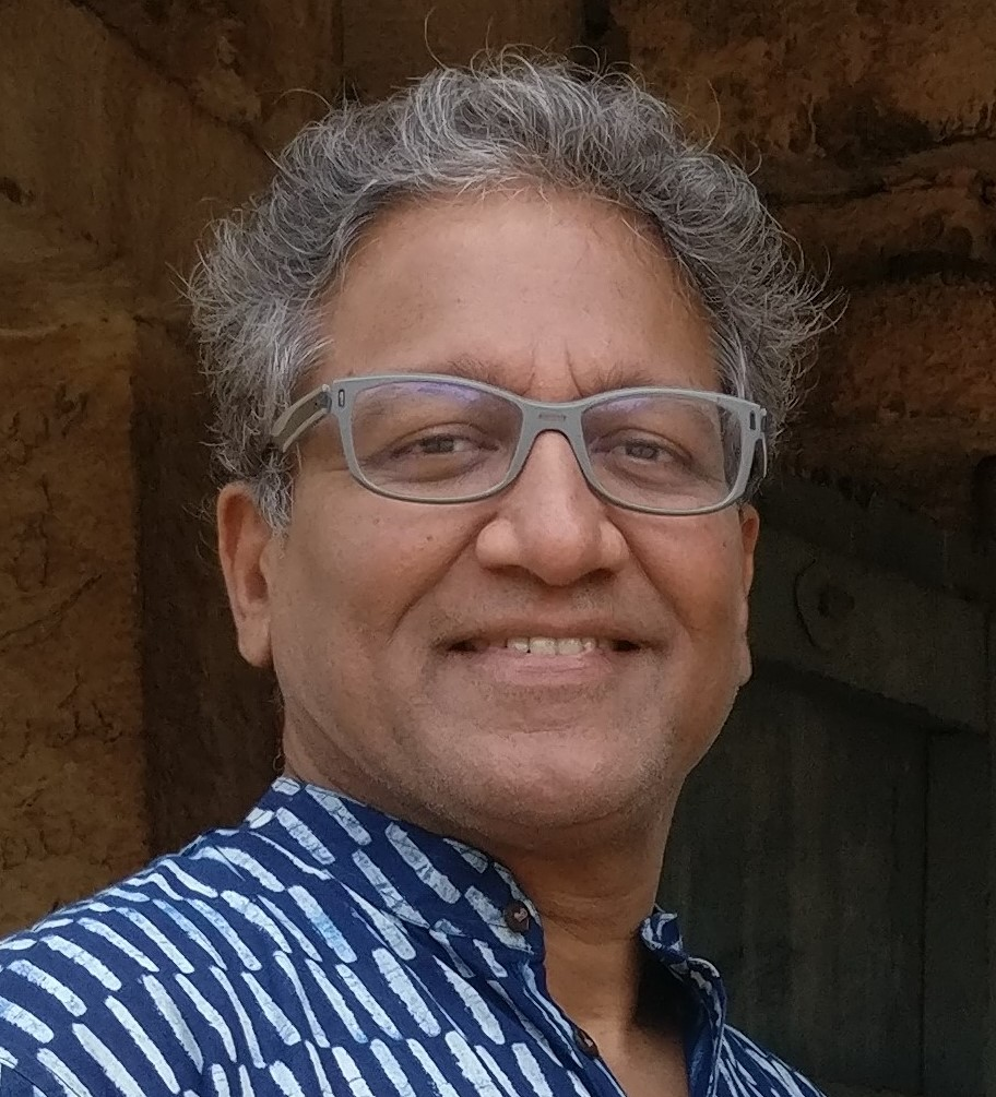 Portrait of Manohar Swaminathan