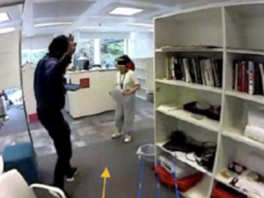 """Paper: """"I can't get round"""": Recruiting Assistance in Mobile Robotic Telepresence"""