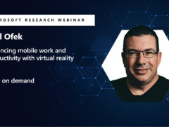 Enhancing mobile work and productivity with virtual reality webinar