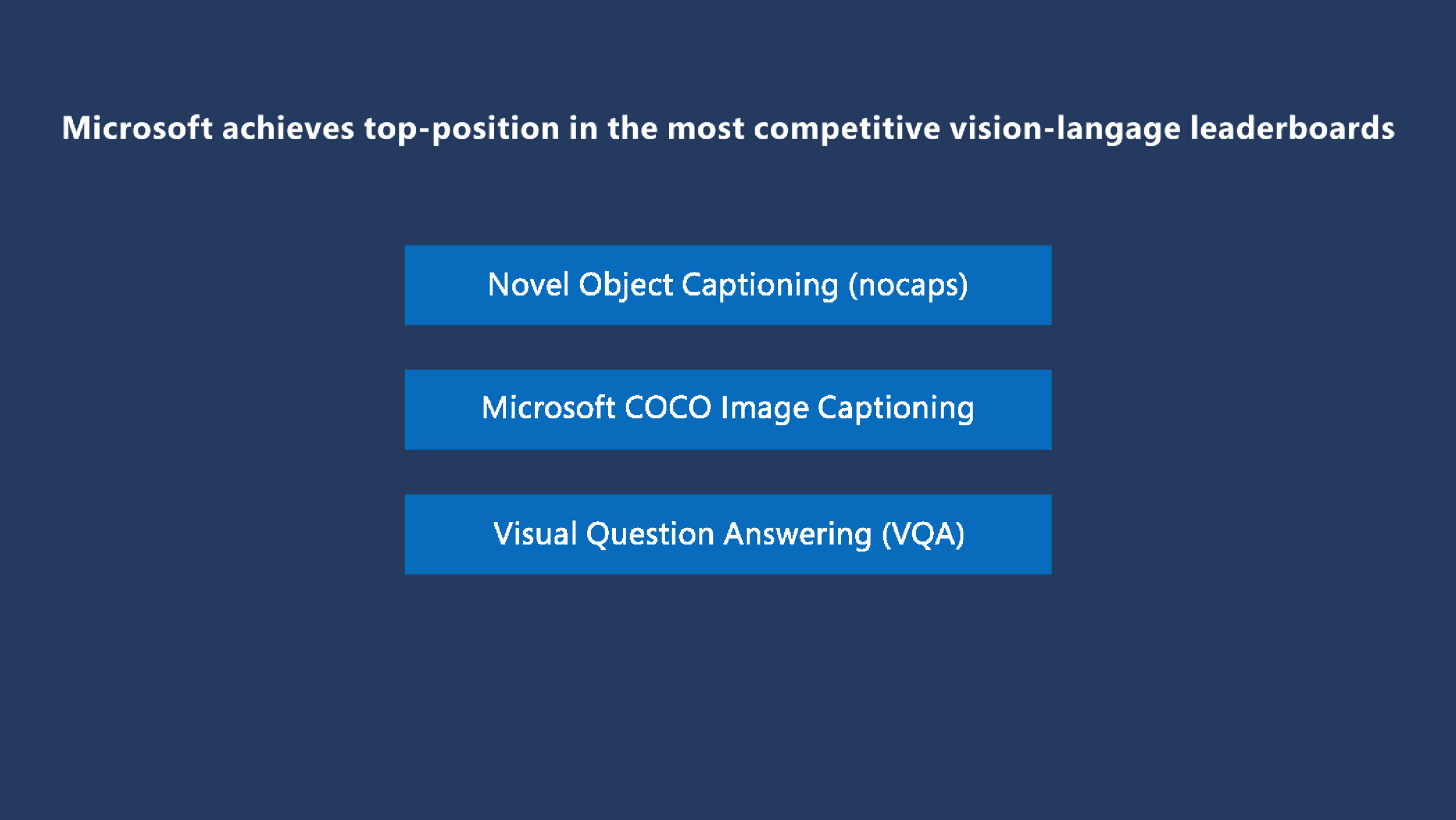VinVL: Advancing the state of the art for vision-language models