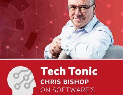 Image of Chris Bishop and Tech Tonic graphics