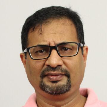 Portrait of Riyaz Pishori