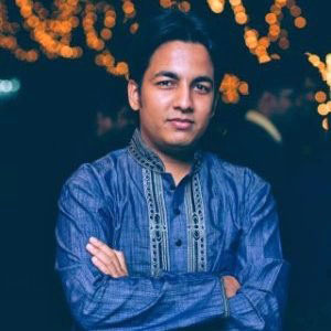Portrait of Tusher Chakraborty