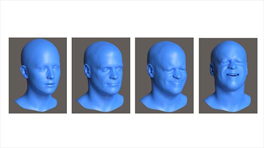 mixed reality face generation models