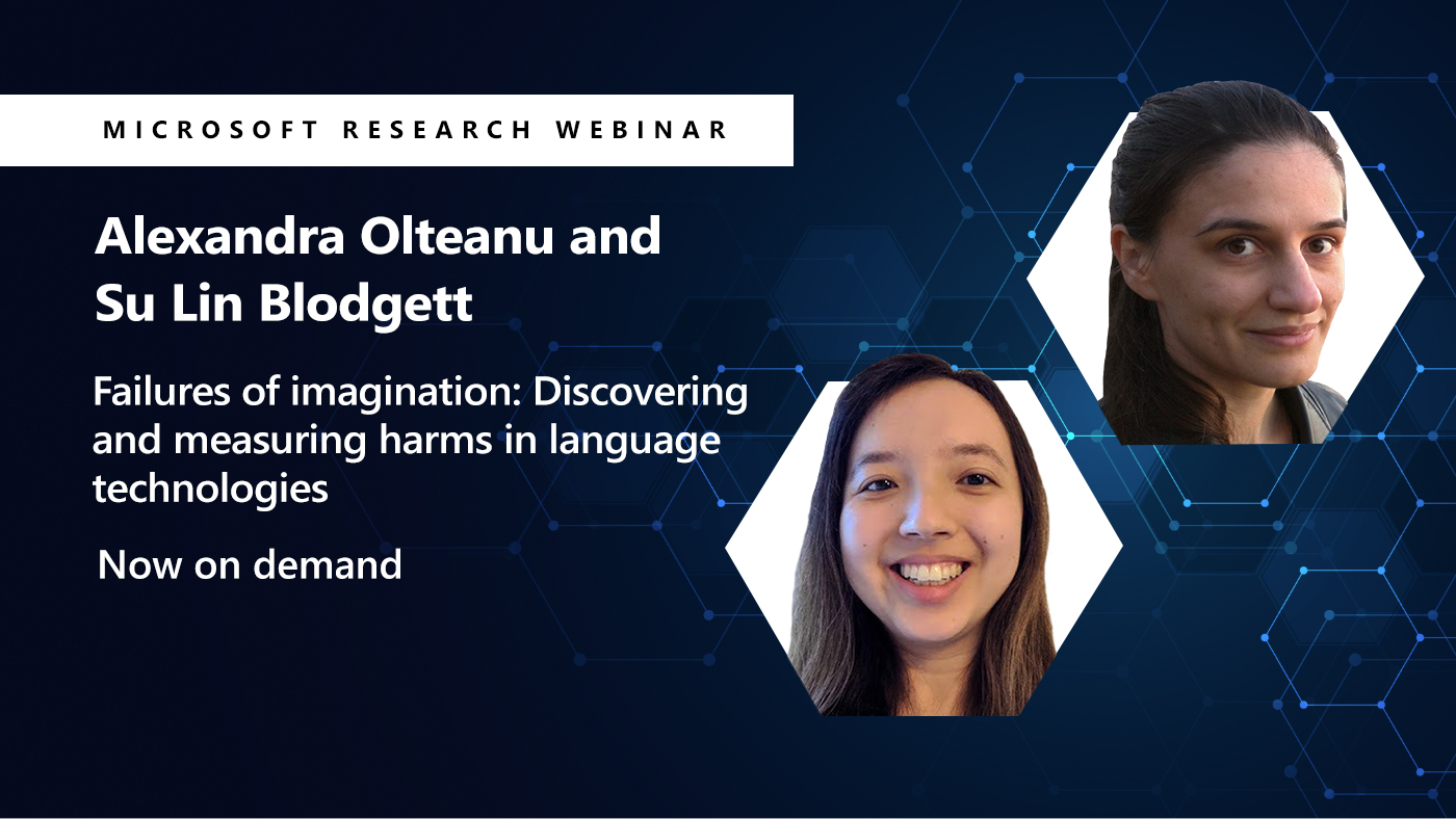 two headshots of alex and su lin next to their webinar title