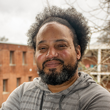 Portrait of André Brock