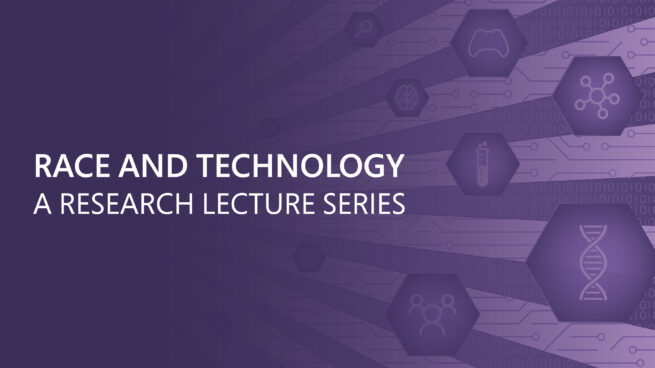 race and technology a research lecture series