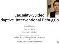 Causality-Guided Adaptive Interventional Debugging