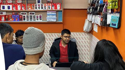 Project Mishtu - group of people talking