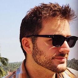 Portrait of Zachary Tellman