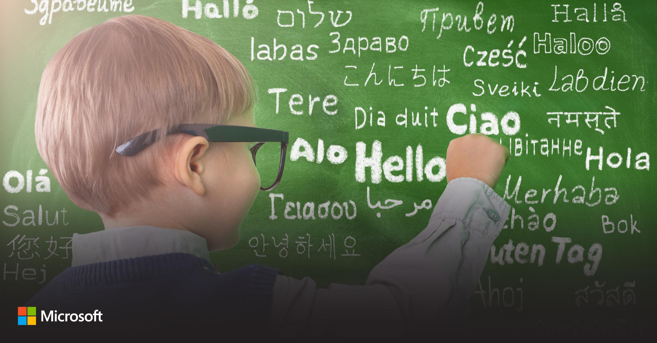 Microsoft Translator: Now translating 100 languages and counting!