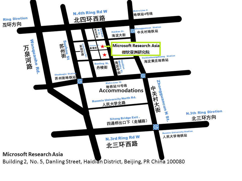 beijing campus map