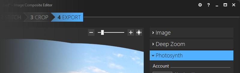 Microsoft Image Composite Editor x64 screenshot