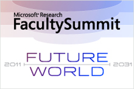 Faculty Summit 2011