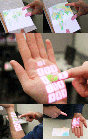 wearable touch screen