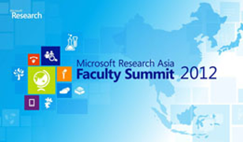 Image attached to Asia Faculty Summit 2012 Highlights