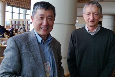 Li Deng and Geoff Hinton