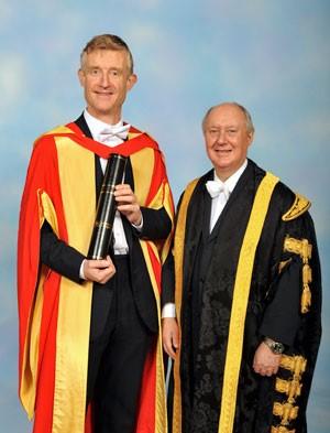 Sir Kenneth Charles Calman and Simon Peyton Jones