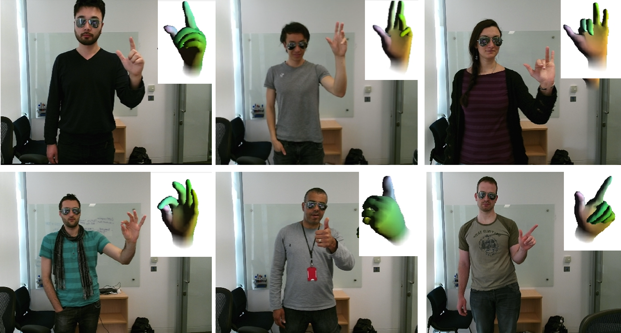 Fully Articulated Hand Tracking Microsoft Research