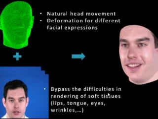 3-D, Photo-Real Talking Head