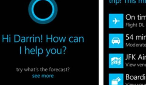 Image attached to Beyond voice recognition: Windows Phone's Cortana anticipates your needs