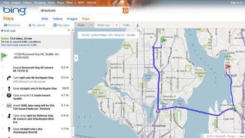 Predictive Analytics For Traffic Microsoft Research - Us web traffic map
