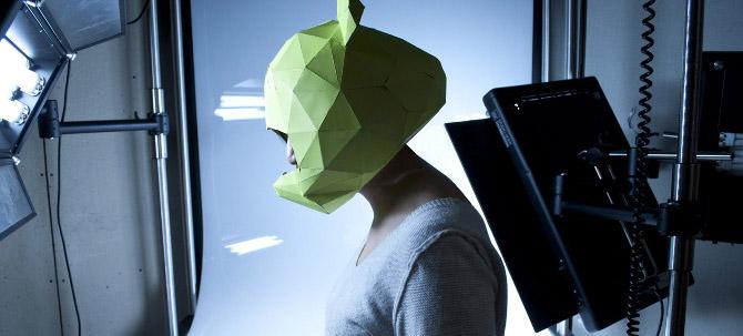 Bear helmet prototype built using Microsoft .NET Gadgeteer. Designed by Christina Xu.