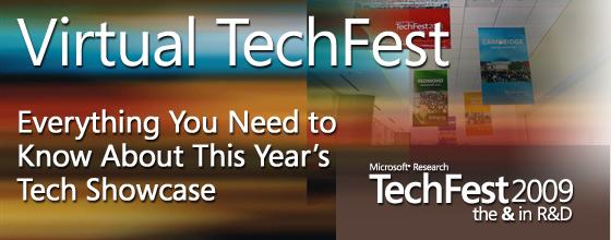 Microsoft TechFest logo 2009