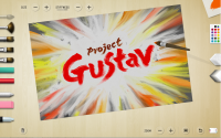 Project Gustav user interface