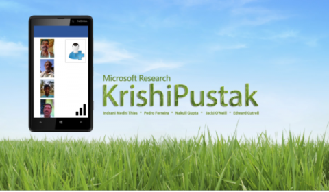 KrishiPustak: A social networking system for low-literate farmers
