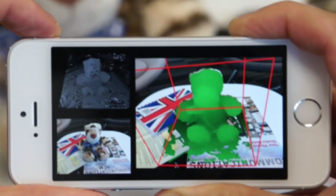 MobileFusion: Create 3D scans with your mobile phone