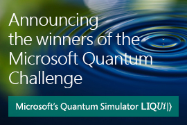 Microsoft Quantum Challenge winners Announced