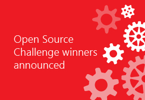 Open Source Challenge winners announced