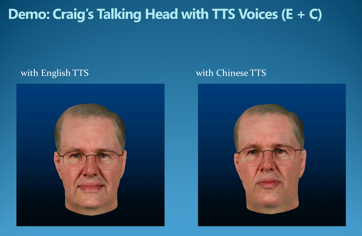 Photo-Real Talking Head - Microsoft Research