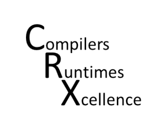 RiSE CRX Compilers and Runtimes Working Group