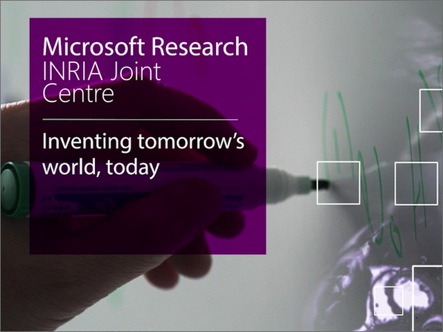 The Microsoft Research-Inria Joint Centre: inventing tomorrow's world, today