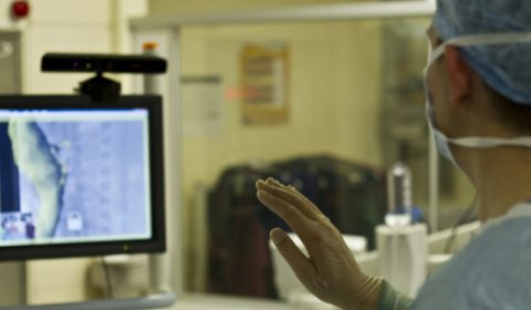 Touchless Interaction in Medical Settings