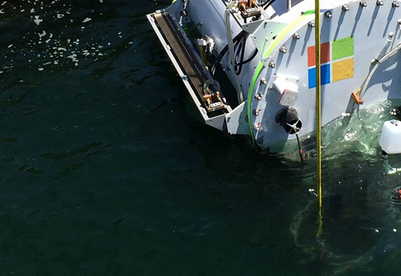 Microsoft research puts cloud in ocean for the first time