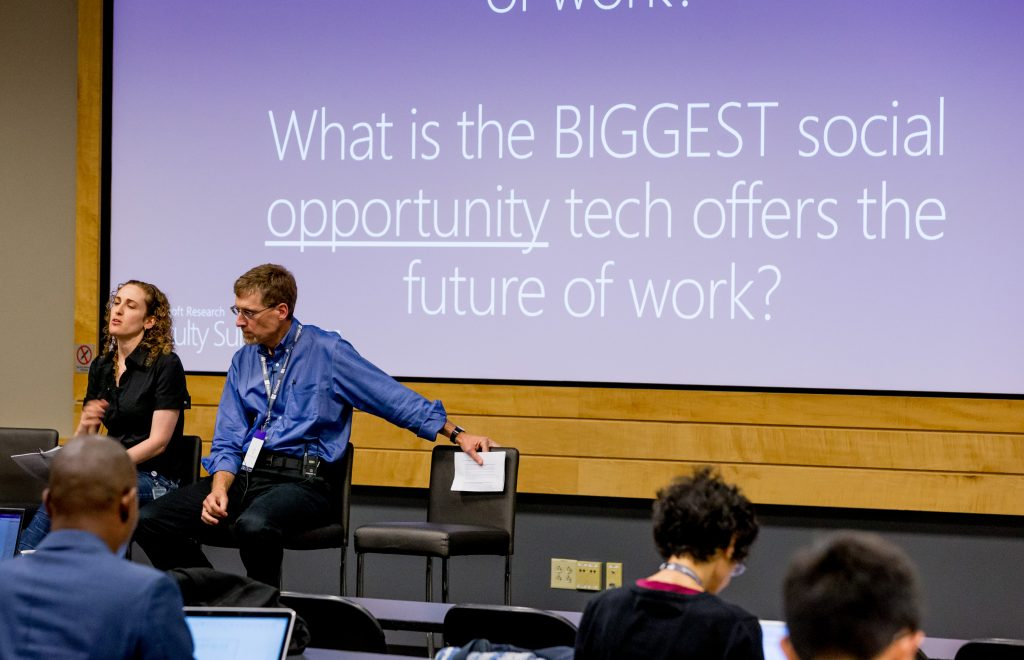 Breakout sessions during the Microsoft Research Faculty Summit