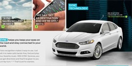 Ford SYNC voice commands