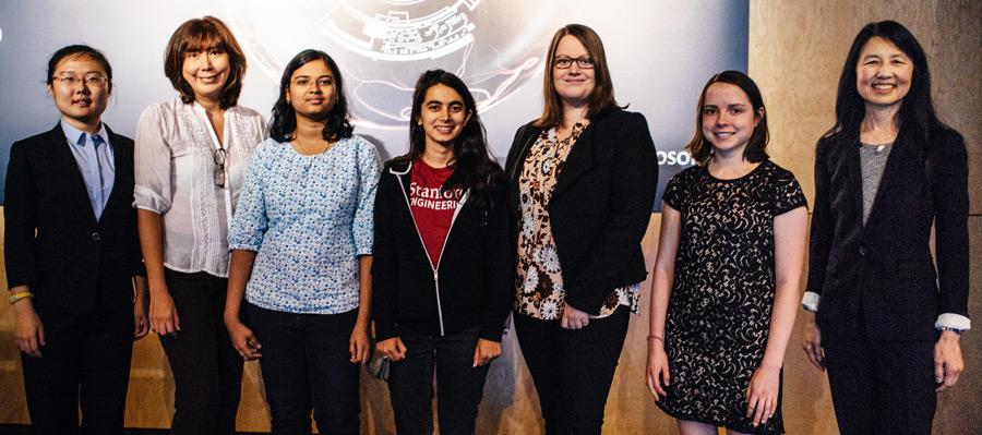 Women's Fellowship Award Recipients