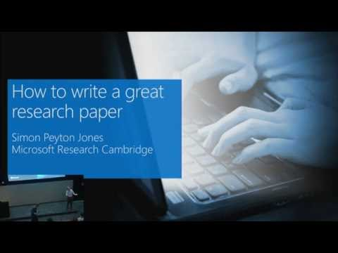 Research paper about microsoft