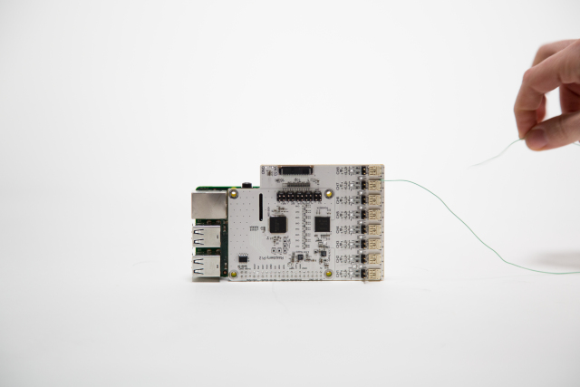 An 8 channel board for measuring bio-electrical signals