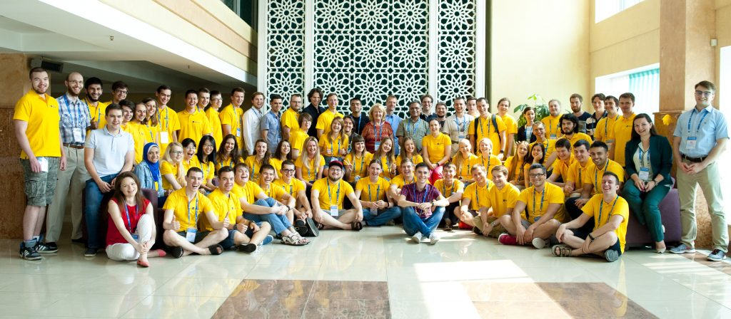 Microsoft summer school in Kazan, Russia, 2016